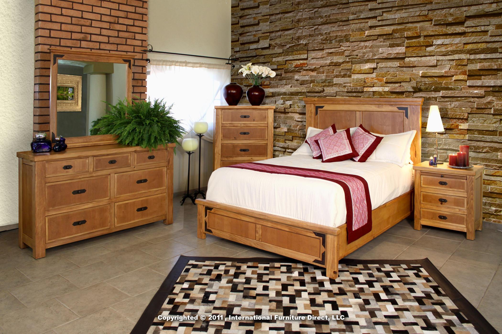 Lodge Bedroom Furniture International Furniture Direct Lodge End Table