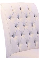 Deep Tufted Chair Back