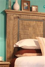 Oversize Molding Shown off on Tall Headboard