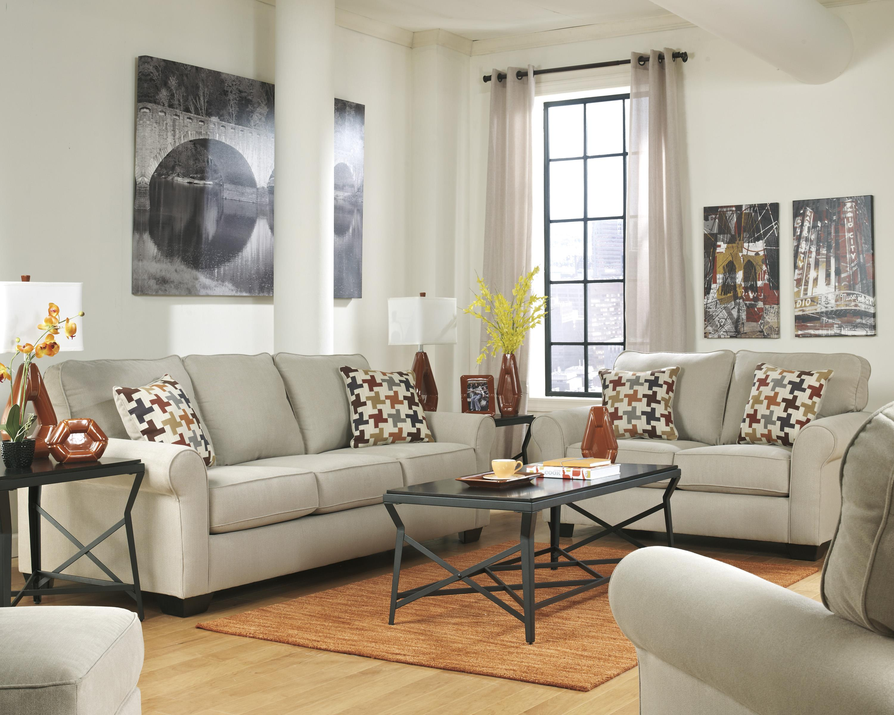 Ashley Furniture Caci Stationary Living Room Group - Item Number: 88202 Living Room Group 2