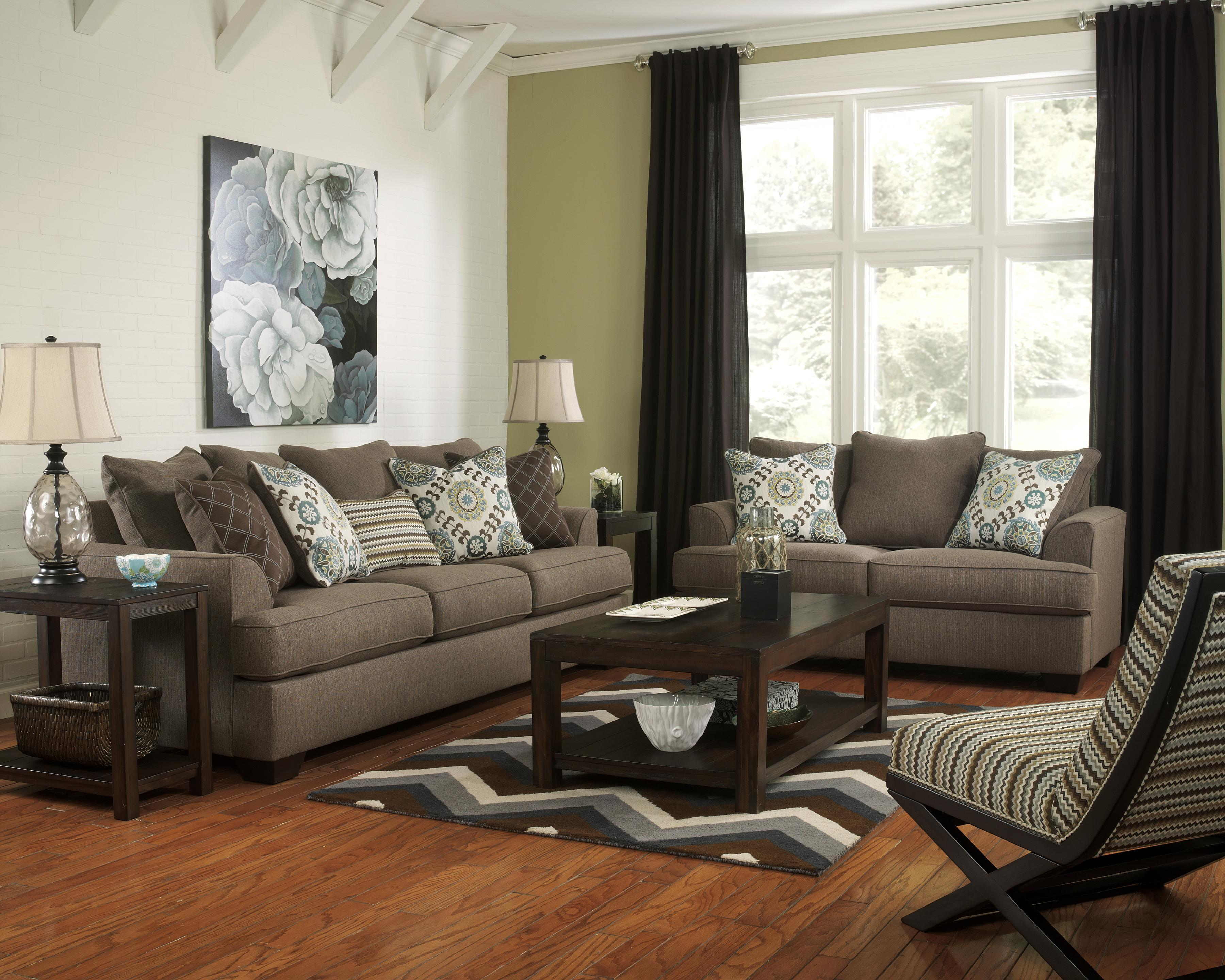Ashley Furniture Corley   Slate Stationary Living Room Group   AHFA    Upholstery Group Dealer Locator