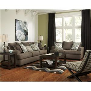 Ashley Furniture Corley - Slate Sofa