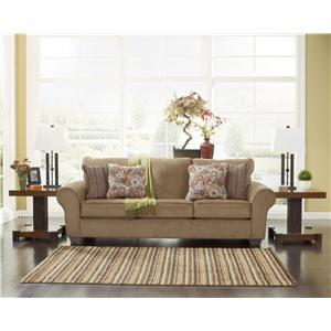 Ashley Furniture Galand - Umber Sofa with Rolled Arms