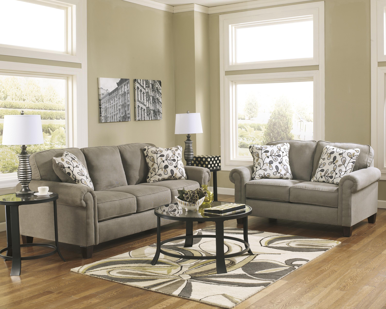 Living Room Furniture Indianapolis Ashley Furniture Gusti Dusk Sofa Van Hill Furniture Sofa