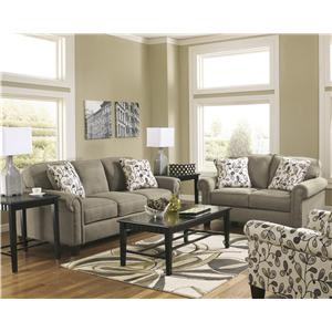 Living Room Settings ashley furniture gusti - dusk stationary living room group - van
