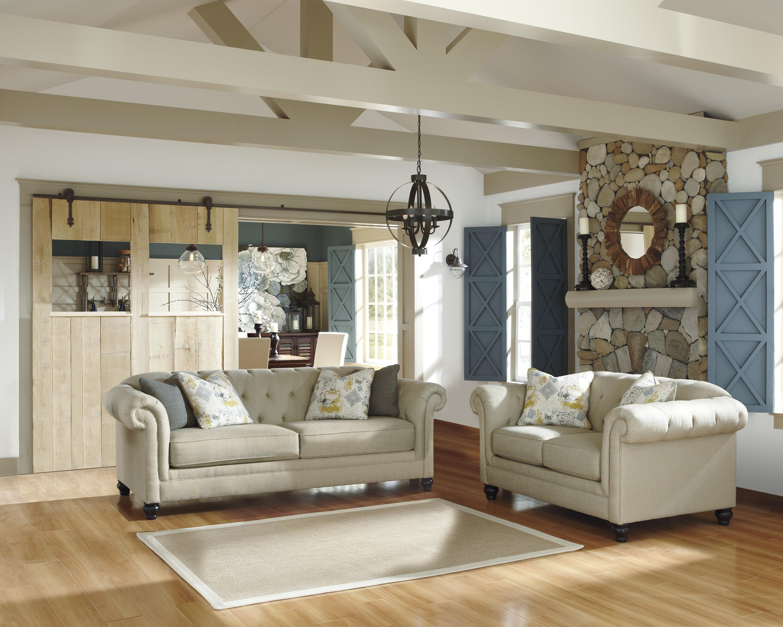 Ashley Furniture Hindell Park Stationary Living Room Group - Item Number: 16804 Living Room Group 1