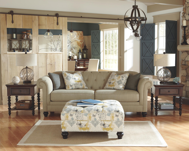 Ashley Furniture Hindell Park Stationary Living Room Group - Item Number: 16804 Living Room Group 2