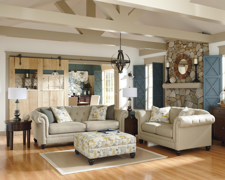 Ashley Furniture Hindell Park Stationary Living Room Group - Item Number: 16804 Living Room Group 3