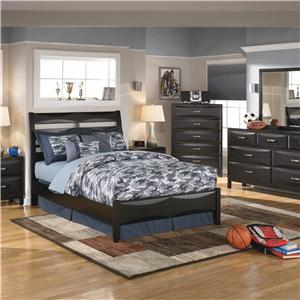 Ashley Furniture Kira King Storage Bed