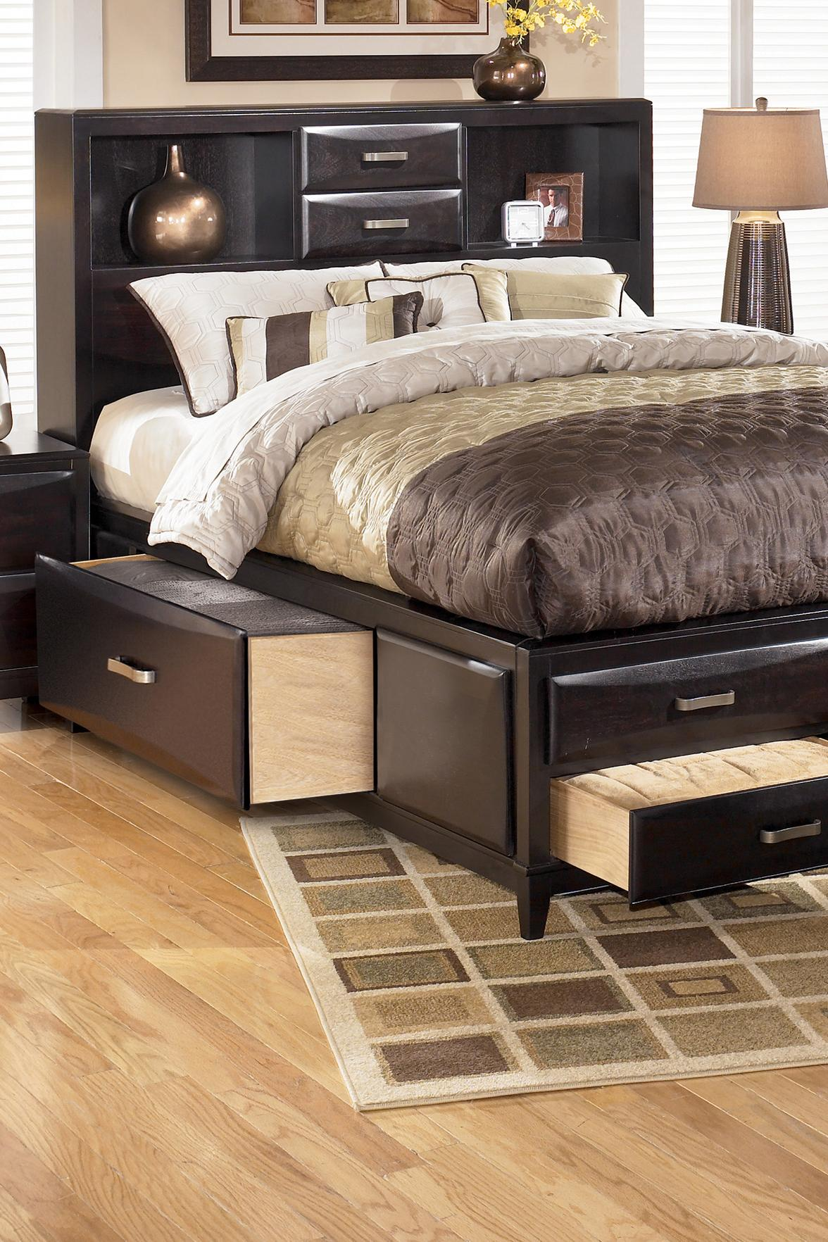 Ashley Furniture Kira Queen Storage Bed Sparks Home Furnishings Direct Captain S Beds Thatcher Cottonwood Safford Sedona Morenci