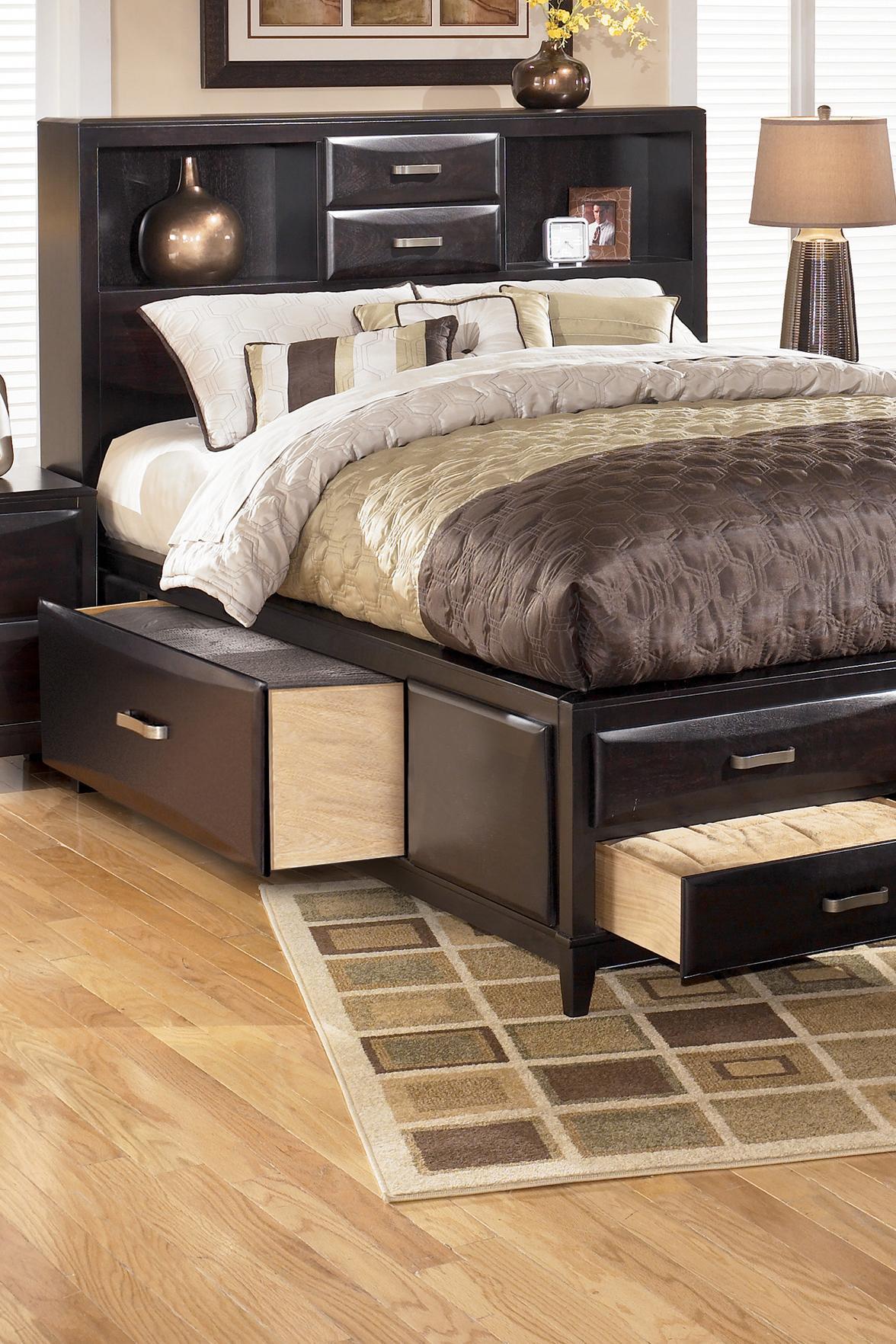 ashley furniture kira queen storage bed sparks homestore u0026 home furnishings direct beds thatcher cottonwood safford sedona morenci