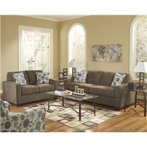 Ashley Furniture Kreeli - Toffee Stationary Living Room Group