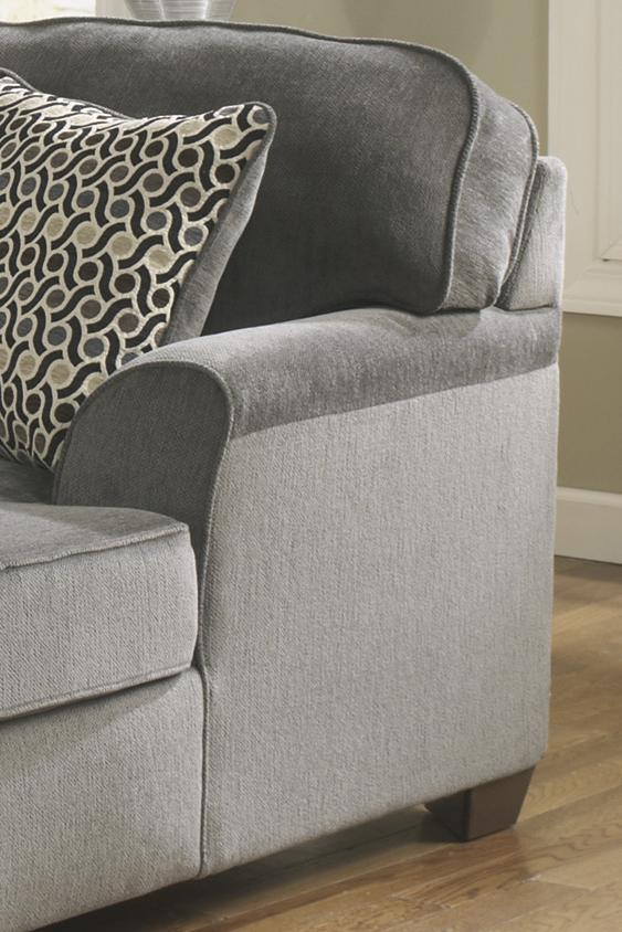 sectional loric pinterest ashley house chaise new by ideas smoke pin