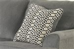 Eye-Catching Geometric Print on Accent Pillows