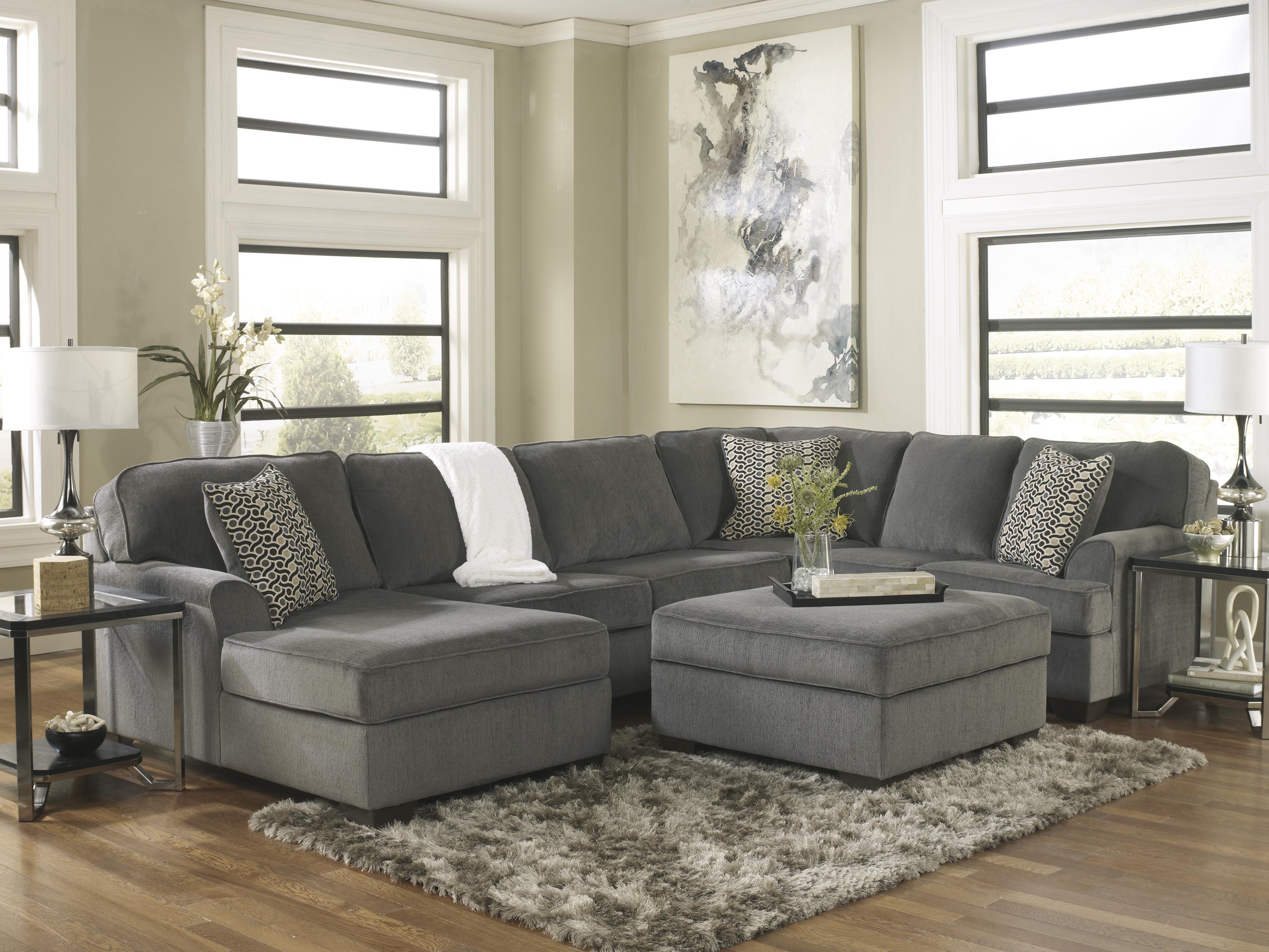 Ashley Furniture Loric - Smoke Stationary Living Room ...