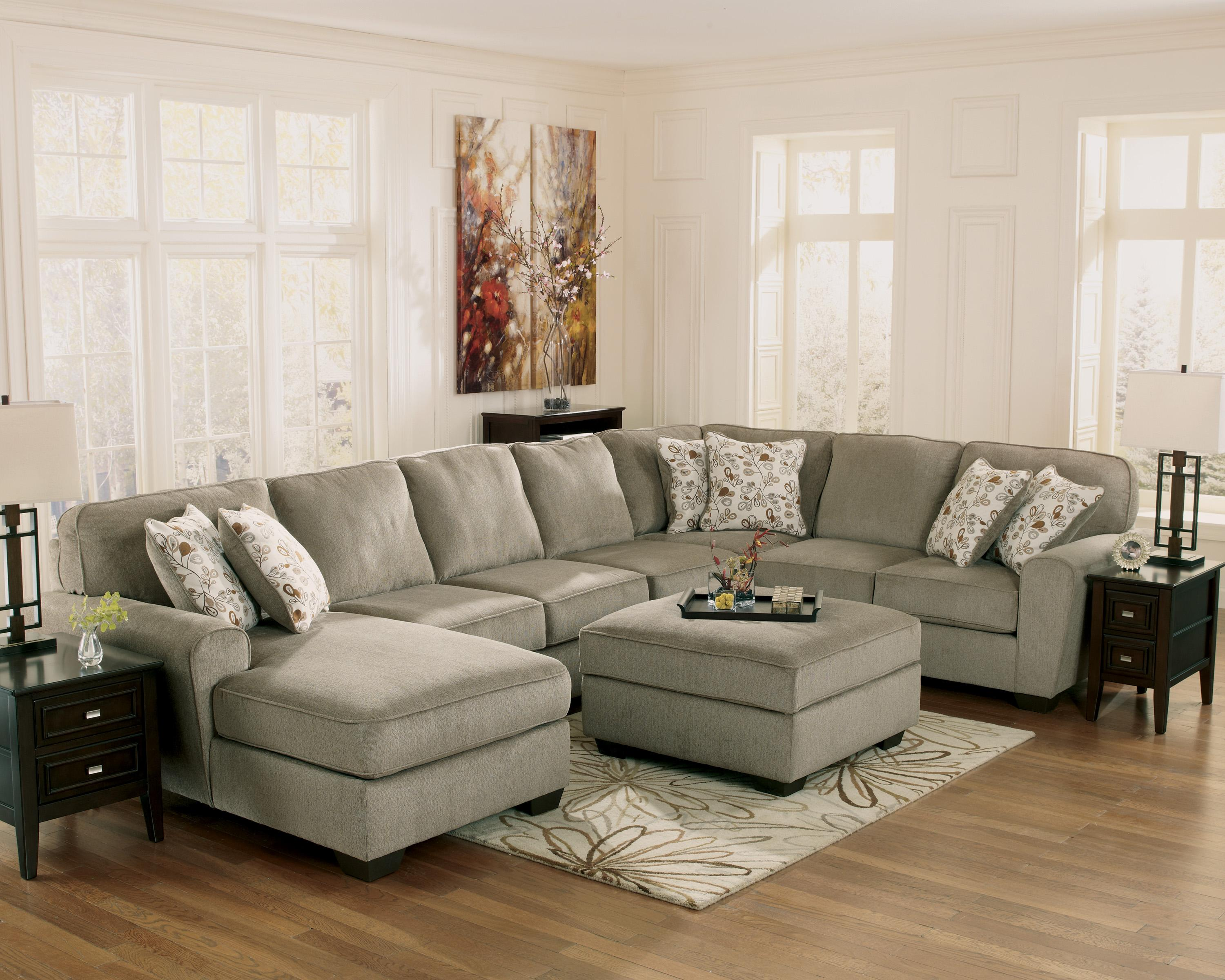 Patina 4 Piece Small Sectional with Right Cuddler Rotmans Sofa