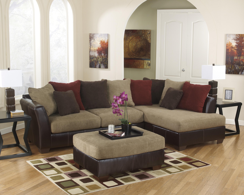 Ashley Furniture Sanya - Mocha Stationary Living Room Group - Item Number: 28400 Living Room Group 4