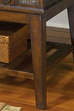 End Table's Tapered Leg