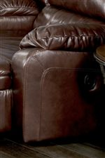Plumply Stuffed Armrests