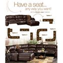 Millennium Braxton - Java Sectional with Chaise with Padded Arms - 9780040+46+07 - Multiple Configuration Options
