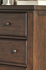 Bead Frame Drawers and Paneled Sides