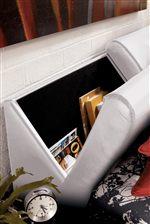 Headboard Storage Space