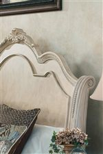 Ornate Sleigh Headboard