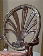 Traditional Chairs with Pierced Oval Backs