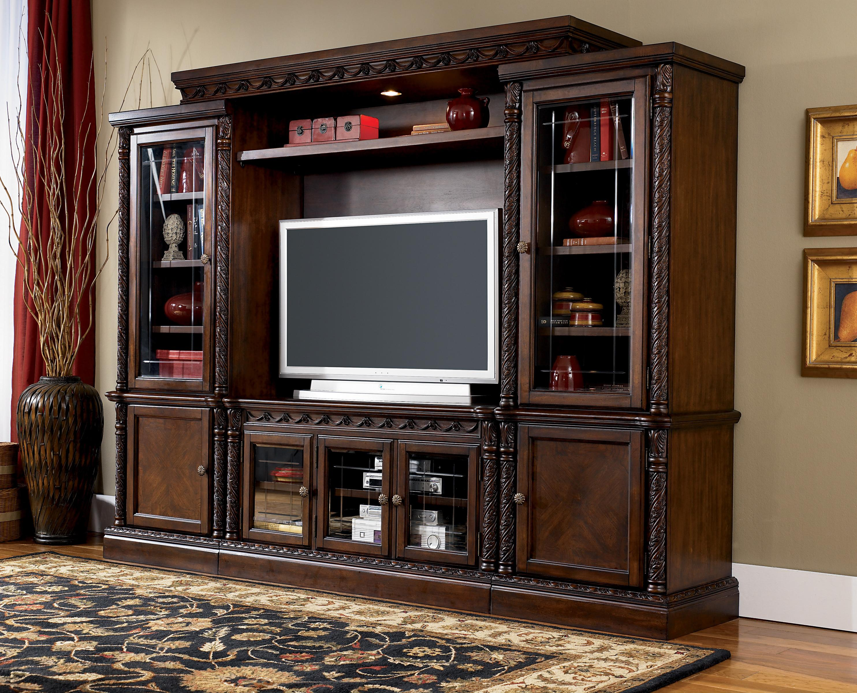 Millennium North Shore Traditional Large 60 Inch TV Stand   Wayside  Furniture   TV Stands