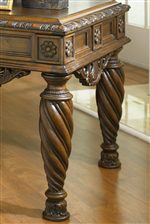 Twisted Legs & Ornate Detailing Create a Stunning Appearance.