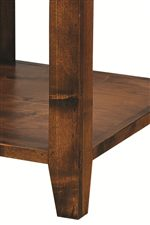 Tables and Consoles Feature Tapered Legs