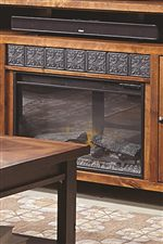 Aspenhome Alder Grove 65 Console With 2 Glass Doors Godby Home Furnishings Tv Or Computer