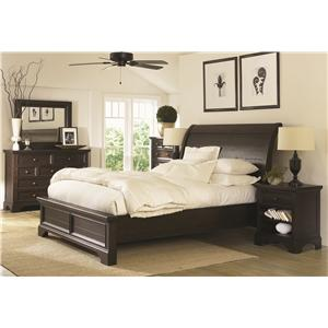 Morris Home Furnishings Burlington Queen Bedroom Group