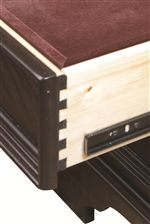 English Dovetail Drawer Construction for Lasting Durability