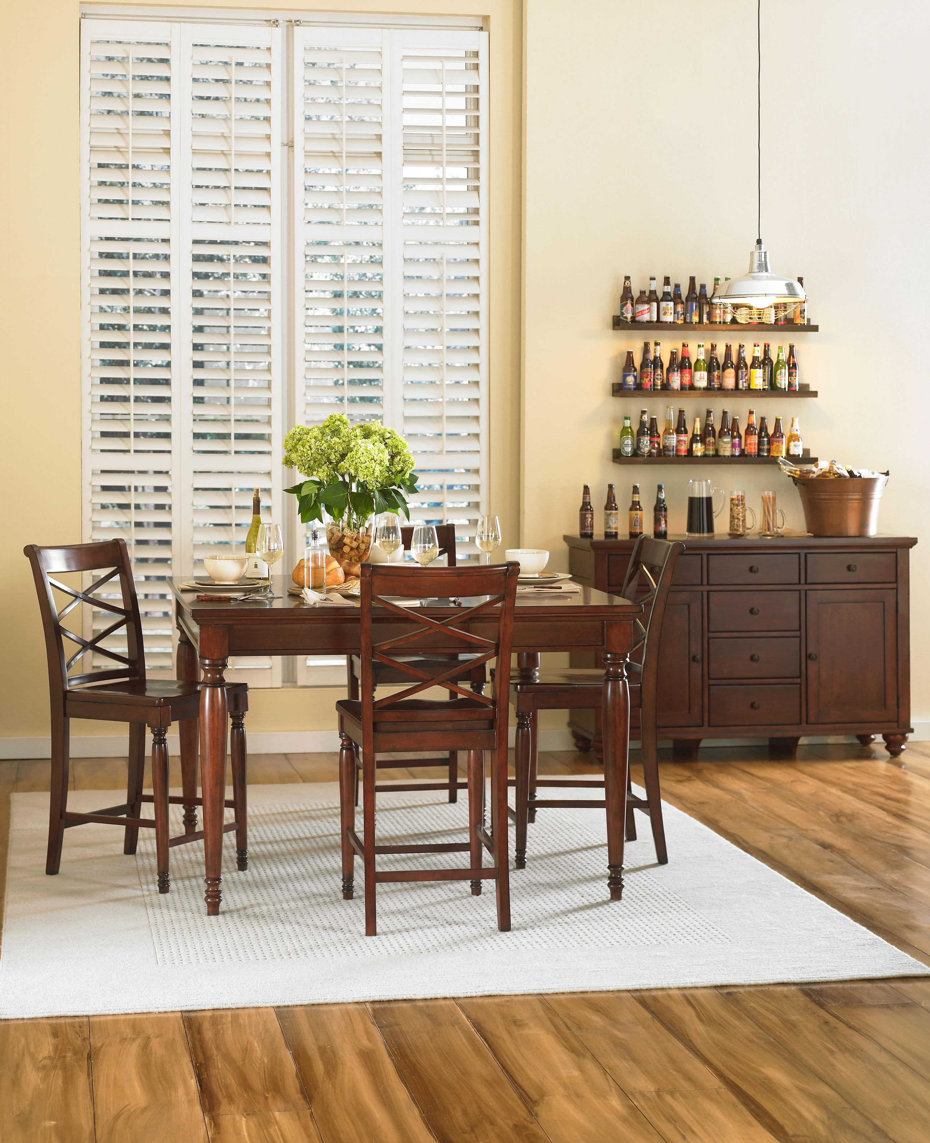 Aspenhome Cambridge Casual Dining Room Group - Item Number: CB BCH Dining Room Group 2