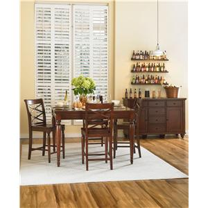 Morris Home Furnishings Clinton Casual Dining Room Group