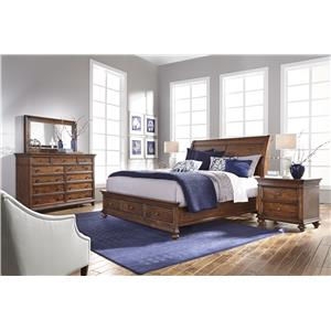 Morris Home Furnishings Camden King Bedroom Group