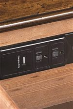 AC and USB Outlet