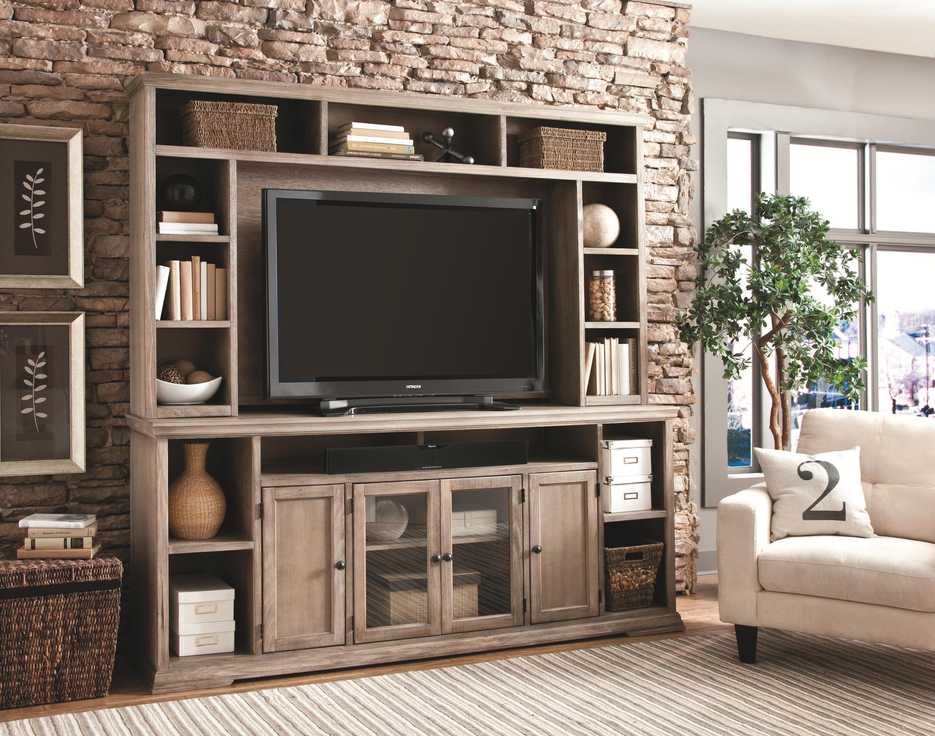 Aspenhome Canyon Creek 60 Inch Bookcase With 3 Fixed Shelves