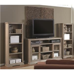 Aspenhome Canyon Creek 84-Inch Bookcase with 5 Fixed Shelves