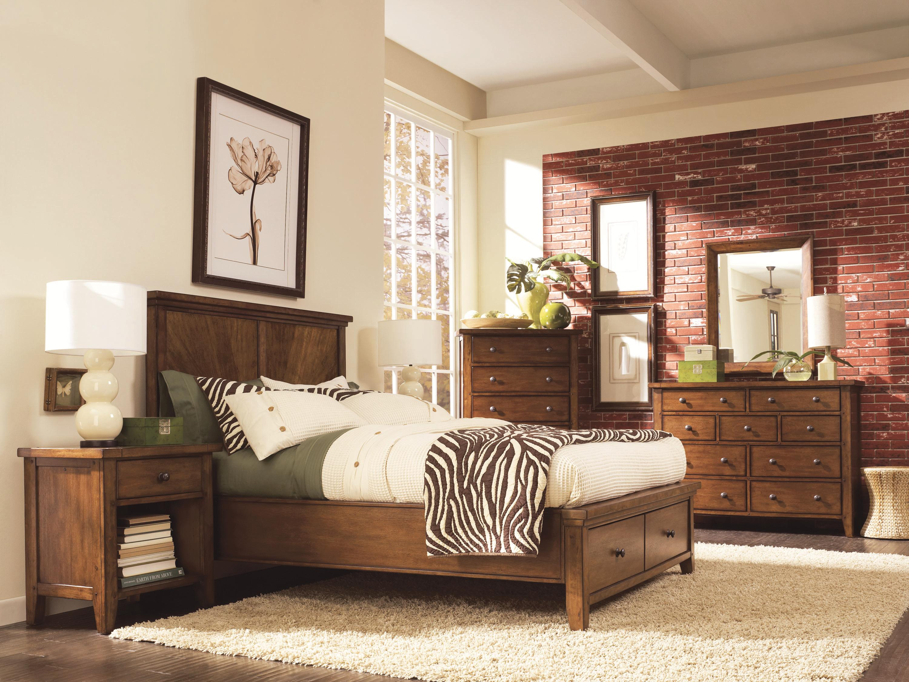 Aspenhome Cross Country Queen Bedroom Group - Item Number: IMR Q Bedroom Group 1