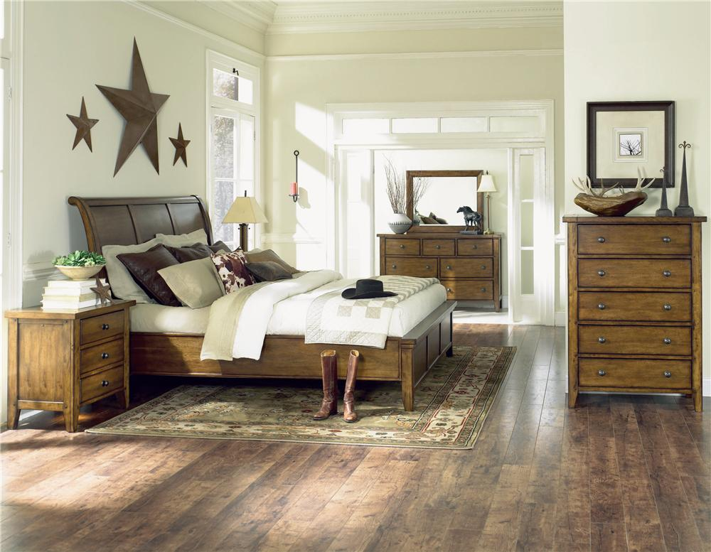 Aspenhome Cross Country California King Bedroom Group - Item Number: IMR CK Bedroom Group 2