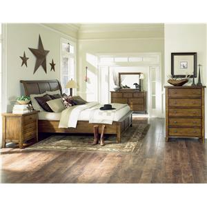 Aspenhome Cross Country Queen Bedroom Group