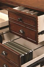 Spacious Storage Options and Full Extension Drawers
