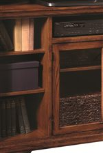 A Variety of Open & Closed Storage Spaces Provide Plenty of Organization Options