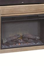 Select Entertainment Units Include Electric Fireplaces