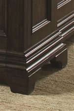 Collection Features Traditional Molding Detail