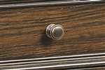 Traditional Copper Finished Knobs on Drawers Throughout Collection