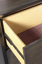 Felt Lined Top Drawers, Dovetail Joinery, and Metal-on-Metal Glides Throughout the Collection