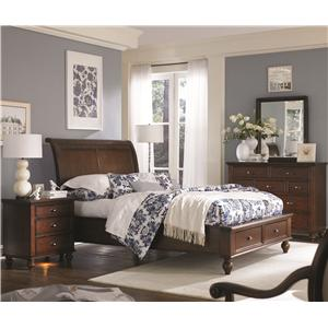 Morris Home Furnishings Madison King Bedroom Group